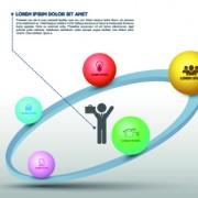 Link toBusiness infographic creative design 88