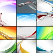 Link toSet of abstract vector backgrounds art 04
