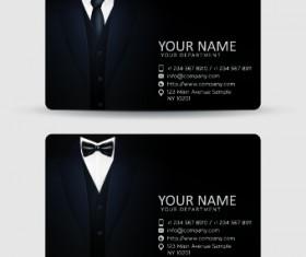 Delicate Business cards design elements 03