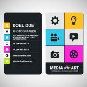 Link toDelicate business cards design elements 04