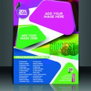 Link toBusiness flyer and brochure cover design vector 38