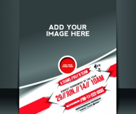 Business flyer and brochure cover design vector 39