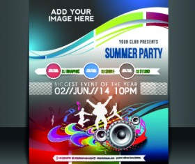 Business flyer and brochure cover design vector 41