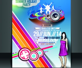 Business flyer and brochure cover design vector 42