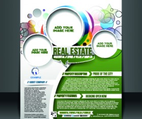 Business flyer and brochure cover design vector 43