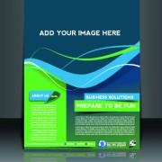 Link toBusiness flyer and brochure cover design vector 44