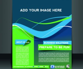 Business flyer and brochure cover design vector 44