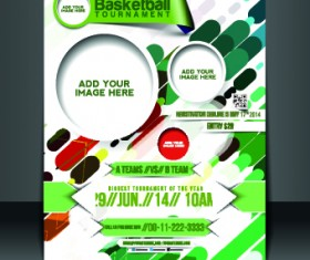 Business flyer and brochure cover design vector 45
