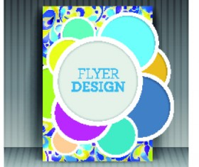 Business flyer and brochure cover design vector 49