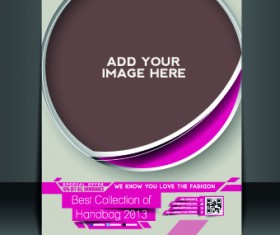 Business flyer and brochure cover design vector 52