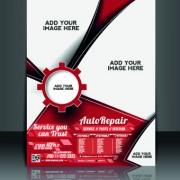 Link toBusiness flyer and brochure cover design vector 57
