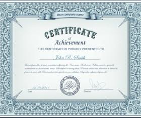Best Certificates design vector set 10
