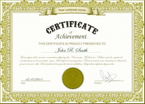 Best certificates design vector set 02 vector cover free download best certificates design vector set 02 yadclub Choice Image