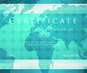 Best Certificates design vector set 04