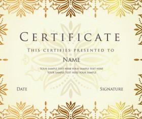 Best Certificates design vector set 06