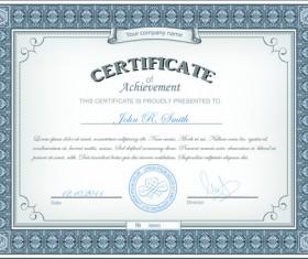 Best Certificates design vector set 07