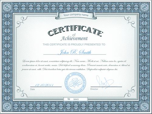 Best certificates design vector set 07 vector cover free download best certificates design vector set 07 yadclub Images