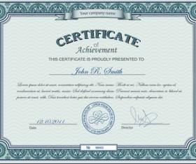 Best Certificates design vector set 08