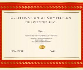Best Certificates design vector set 09