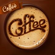 Link toRomantic coffee labels design vector 03
