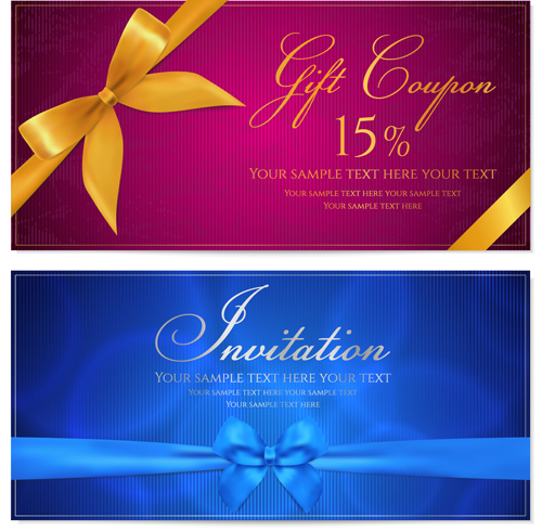 Free eps file coupon design elements vector 05 download name coupon