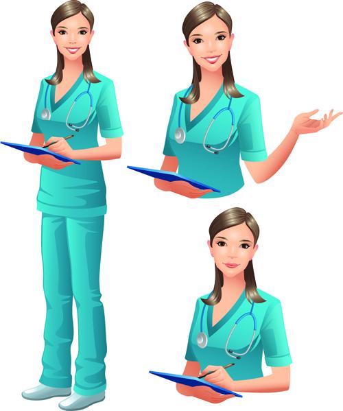 Vector Doctor design elements set 02