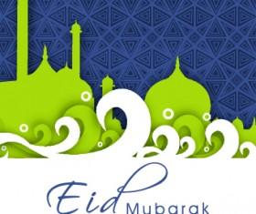 Eid Mubarak style background 05
