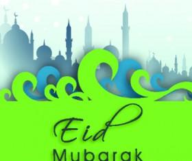 Eid Mubarak style background 06