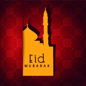 Eid Mubarak style background 09