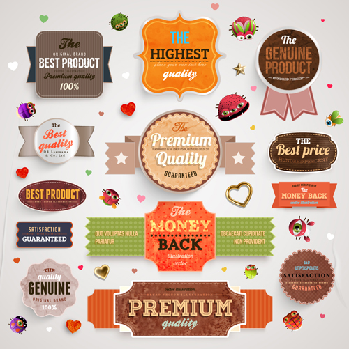 Elements labels vector 04