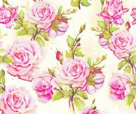 Beautiful Floral Patterns vector ser 03