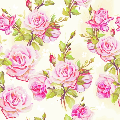 floral pattern vector - Page 7 of 10 for free download