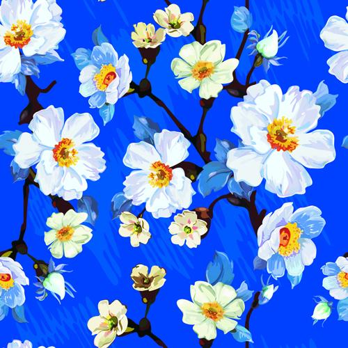 Beautiful Floral Patterns Vector Ser 06 Vector Flower