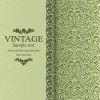 Floral Vintage backgrounds vector 01