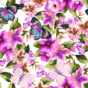 Link toWatercolor flowers vector 03