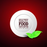 Link toCreative healthy food labels vector 01