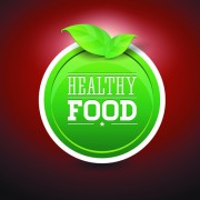 Link toCreative healthy food labels vector 02