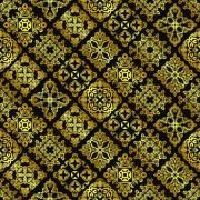 Link toLuxurious golden vintage patterns background 02