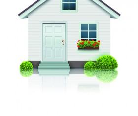 Different Houses design elements vector 01