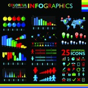 Link toColorful infographic vector 03