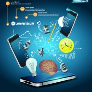 Link toBusiness infographic creative design 03