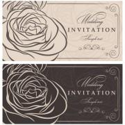 Link toVector retro invitations design elements 05