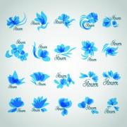 Link toDifferent logo flowers design vector 02