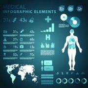 Link toCreative biology with medicine infographic vector 08