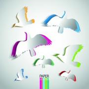 Link toPaper design elements vector 01