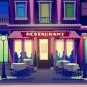Link toFunny restaurant poster design vector 04