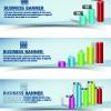 Retro Garbage Business banner vector 05