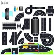 Link toCreative road design elements vector 02
