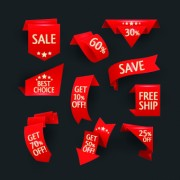 Link toDifferent sale discount labels vector 01