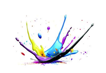 Splash paint Effect vector 04 free download